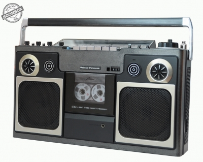 National Panasonic RS-4300FDS Stereo radio cassette recorder
