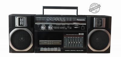 Panasonic RX-C31 Stereo radio cassette recorder