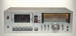 My SONY 5th series vintage stereo system, cassette deck TC-U5