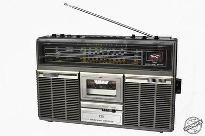 Stereo radio cassette recorder ITT 110 WEEKEND