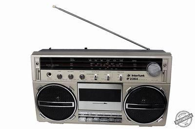 Radio cassette recorder Interfunk IF-2364