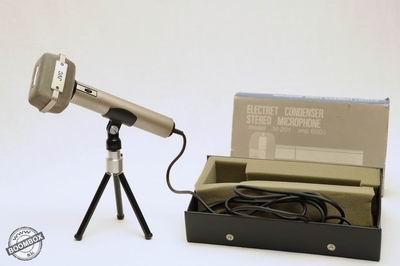 Vintage stereo microphone JVC M-201