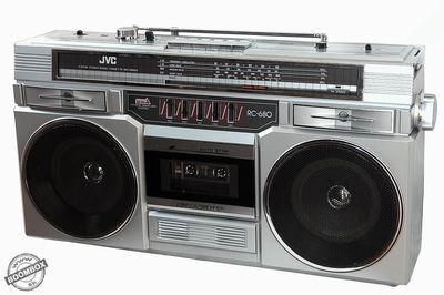 Stereo radio cassette recorder JVC RC-680V