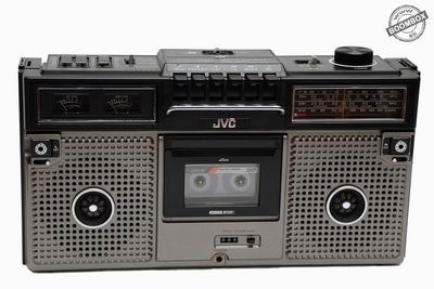 Stero radio cassette recorder JVC RC-717JW