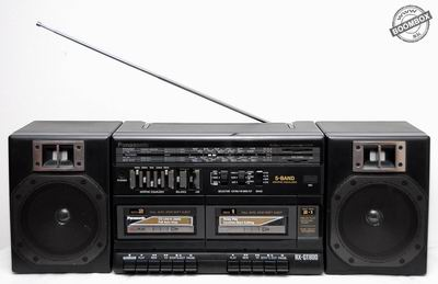 Portable stereo component system Panasonic RX-CT800