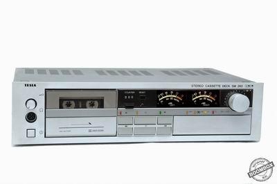 Stereo cassette deck TESLA SM 260 HiFi