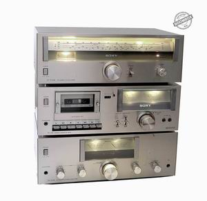 My SONY vintage stereo system - Amp. TA212-A, Tuner ST-212AL, Cassette deck TC-U2