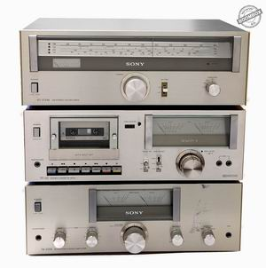 My SONY vintage stereo system