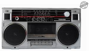 Stereo radio cassette recorder Toshiba RT-99S